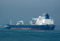 Crude Oil Tanker Olympiysky Prospect arriving Fawley