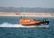 RNLI 13-03 R and J Welburn Shannon Class on the Solent