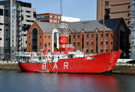 Celebrating 50 years of Radio Caroline from Mersey Bar Lightship Planet