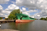 Arklow Flair General Cargo Ship at Latchford