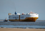 Grande Detroit arriving Liverpool 17th May 2014