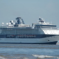Celebrity Infinity arriving Liverpool 17th May 2014