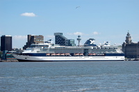 Celebrity Infinity on the Cruise Liner Terminal 17th May 2014