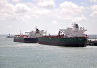 Gulf Valour and Yasa Polaris alongside Fawley