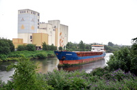 Norderau arriving for Irwell Park Wharf 4th July 2014