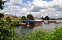 Krempertor on the Manchester Ship Canal 6th July 2014