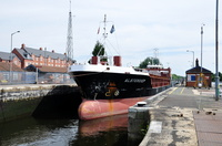 Alsterdiep at Latchford Locks 26th July 2014