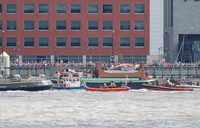The Giants sail off 27th July 2014