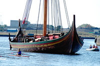Draken Harald Hårfagre the largest Viking Ship built in modern times