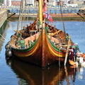 Draken Harald Hårfagre in Alfred Locks 4th August 2014