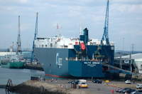 Baltic Breeze IMO 8312590 29979ht Built 1983 Car Carrier