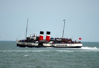 PS Waverley at Llandudno 27th August 2014