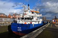 Melas at Latchford Locks 17th January 2015