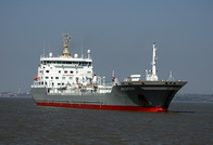 Prospero inward for Eastham QE2 Docks