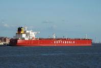 Leyla K passing Seacombe for Tranmere 26th April 2015