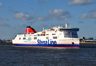 Stena Mersey arriving Birkenhead 26th April 2015