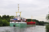 Sea Ems on her second visit to Weaste 24th July 2015