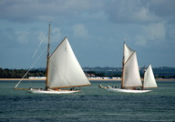 Yachts on the Solent