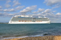 Royal Princess passing Calshot
