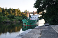Arklow Rally arriving Latchford Locks 6th Aug 2015