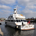Lady Sandals Built 1985 arriving Salford Quays 8th September 2015