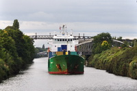 Arslan 1 IMO 9050620 inward for Irlam 23rd September 2015