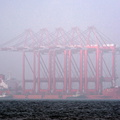 Zhen Hua 23 arriving Liverpool in thick fog IMO 8414738 37879gt Built 1986