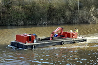 Bilway Marine Workboat at Irlam 8th January 2016