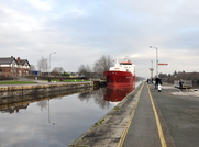 B Gas Linda entering Latchford Locks