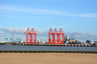 New cranes for Liverpools new river berth