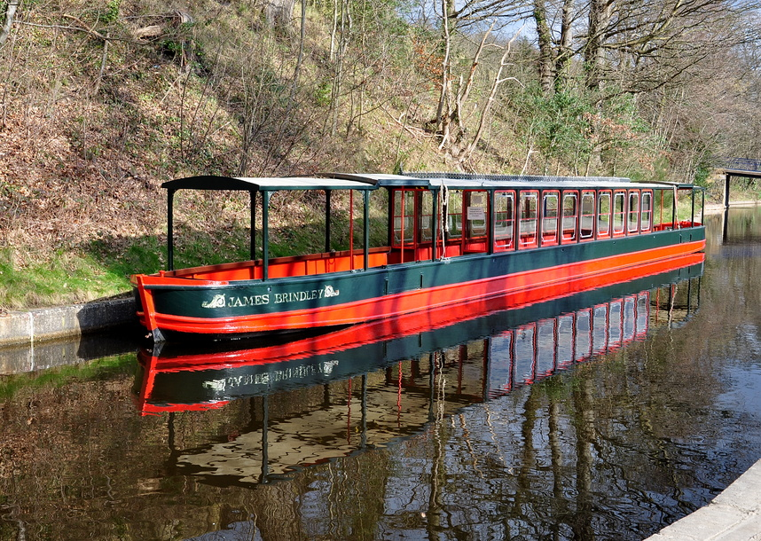 James Brindley on the Llangollen Canal