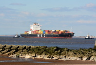 MSC Alyssa passing New Brighton