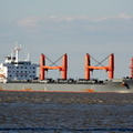 Bulk Carrier Nordrhone arriving Liverpool