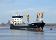 Mersey Shipping March 2016