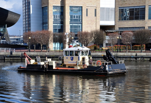 Fosser at Salford Quays 8th April 2016
