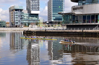 Rowing at the Quays