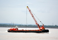Collingham Crane Barge  Built 1974