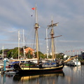 HMS Pickle Replica in Hull Marina