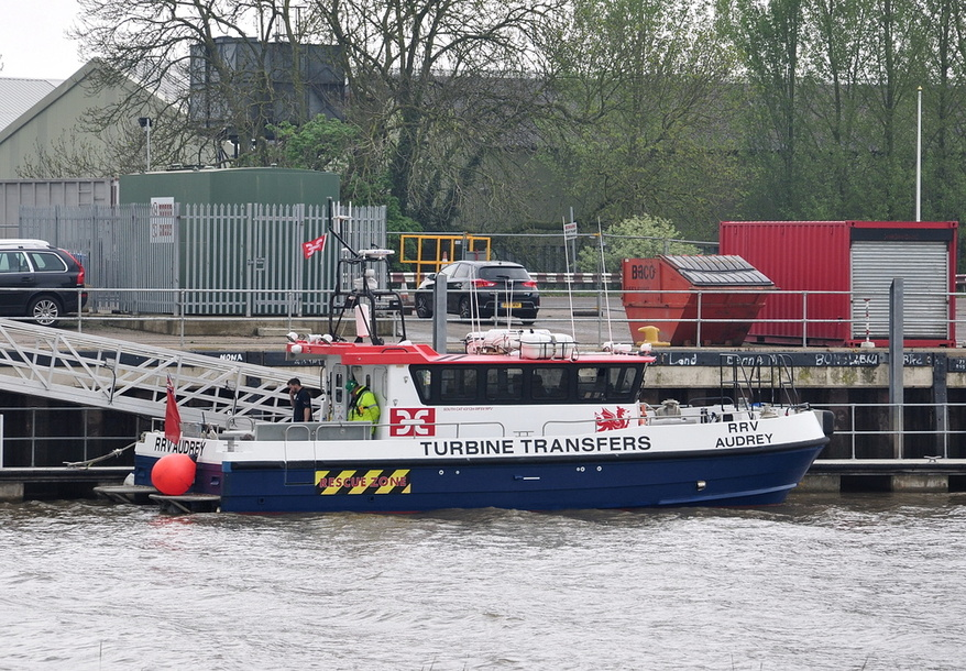 RRV Auddrey Support Vessel Built 2009