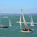 Yachts mid Solent