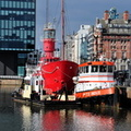 Lightship Planet with tow MTS Indus & workboat Fossor