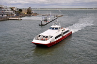 Red Jet 3 arriving Cowes