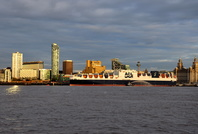 Atlantic Sea naming ceremony at Liverpool