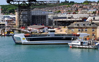 The new Cowes Floating Bridge No6