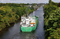Arklow Rebel heading towards Latchford