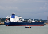 SCF Baltica alongside Fawley