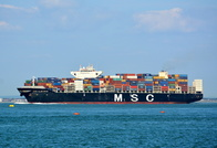 MSC Algeciras passing West Cowes IOW