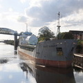 Scot Ranger arriving Latchford Locks