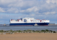Atlantic Sun arriving Liverpool