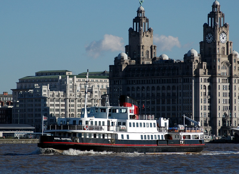 Royal Daffodil  IMO 4900868 751gt Built 1962 Mersey Ferry